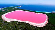 The One and Only Pink Lake: Lake Hillier
