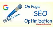 13 Advanced On Page SEO Techniques in Hindi - 2017 Edition