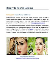 Beauty Parlour in Udaipur-First Impression Heritage Salon