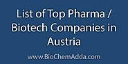 List of Top Pharma / Biotech Companies in Austria - BioChem Adda