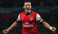 Arsenal's Mesut Ozil was hours from signing with Manchester United