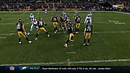Steelers fake spike against the Cowboys