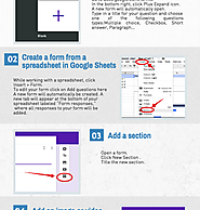 Teachers Visual Guide to The New Google Forms