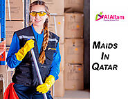 What are the advantages of hiring maids in Qatar