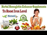 Herbal Hemoglobin Enhancer Supplements To Boost Iron Level