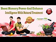 Boost Memory Power And Enhance Intelligence With Natural Treatment