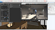 Interior lighting with v-ray for sketchup