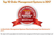 'Top 10 Best Order Management System for Small Business - 2017' by John Britto | Readymag