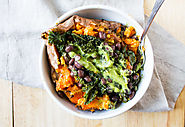Vegan Loaded Sweet Potato - The Foodie Dietitian