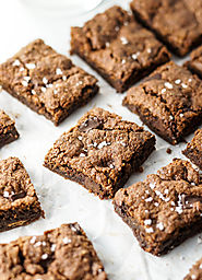 Vegan Almond Butter Brownies | Detoxinista