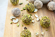 Raw Vegan Pistachio Lemon Truffles | My Wife Makes