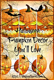 Indoor Halloween Pumpkin Decoration Ideas • Holiday Décor – Season Charm