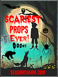 10+ Scariest Halloween Animated Props Ever • Holiday Décor – Season Charm
