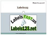 A place where easy online ordering of the labels!