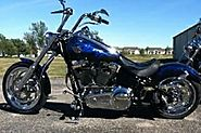 Where to find used Harley Davidson chopper for sale