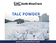 Talc powder in India | Talc powder supplier manufacturer exporter in India | Earth Minchem