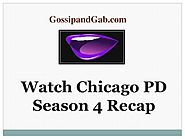 Watch Chicago PD Season 4 Recap