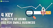 Mag studios - 4 Key Benefits of Using SEO for small business