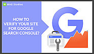 How to verify your website through Search Console? - MAG Studios
