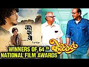 64th National Film Awards 2017 | Winners: Marathi Movies Ventilator, Kaasav, Dashkriya, Cycle