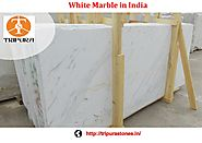 White Marbles Manufacturer in India