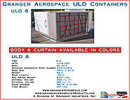 LD 8 Air Craft Cargo Containers