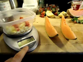 How to use a food scale to measure portions