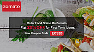 Zomato Coupons  → Exclusive Flat 20% OFF Promo Codes