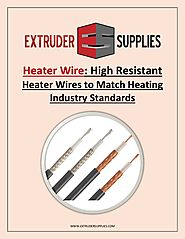 Heater Wire: High Resistant Heater Wires to Match Heating Industry Standards