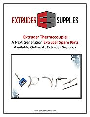 Extruder Thermocouple - A Next Generation Extruder Spare Parts Available Online at Extruder Supplies