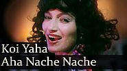 Koi Yahan Aha Nache Nache - Karan Razdan - Kalpana Iyer - Disco Dancer - Bollywood Hit Songs