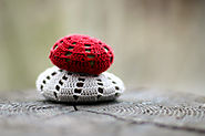 Crocheted Stones - Flax & Twine