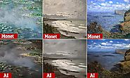 AI can turn Monet and Van Gogh masterpieces into photos