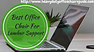 Best Office Chair for Lower Back Support | Heavy Duty Office Chairs