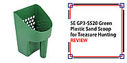 SE GP3-SS20 Green Plastic Sand Scoop for Treasure Hunting Review - Detectorly