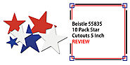Beistle 55835 10 Pack Star Cutouts 5 Inch Review - Detectorly
