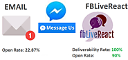 #FBLiveReact is more powerful than email marketing!
