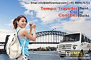 Get the best tempo traveller hire in Delhi with affordable rates enjoy this summer in Manali, Shimla, Mussoorie and m...