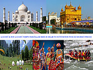 Luxury & Non Luxury Tempo Traveller Hire in Delhi
