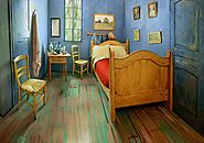 Van Gogh's Bedroom, Airbnb & Chicago