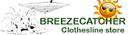 Outdoor Umbrella Clothesline by BreezeCatcher Clothesline