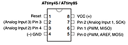 Programming an Attiny85 using an Arduino - Get micros