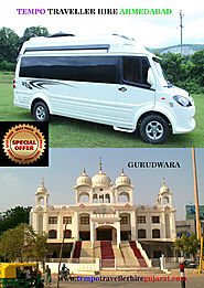 Hire 9 Seater Tempo Traveller | Ahmedabad City Tour @Rs.14 P/km