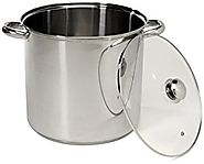 Excelsteel 16 Quart Stainless Steel Stockpot