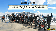 A quick guide to road trip to Leh Ladakh