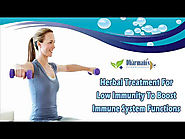 Herbal Treatment For Low Immunity To Boost Immune System Functions