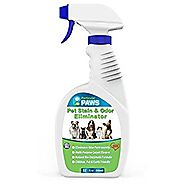 Pet Stain and Odor Remover - Professional Strength Triple Action Enzyme Spray Eliminates Dog and Cat Urine Stains and...