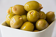 Taste the Tart and Nutty-Sweet Flavors Olives Stuffed with Almonds