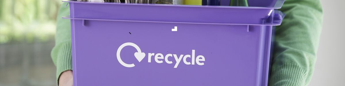 Headline for Let's Recycle Smarter. 5 Things You Can Freely Recycle.