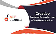 Creative Brochure Design Services Offered by AceDezines!